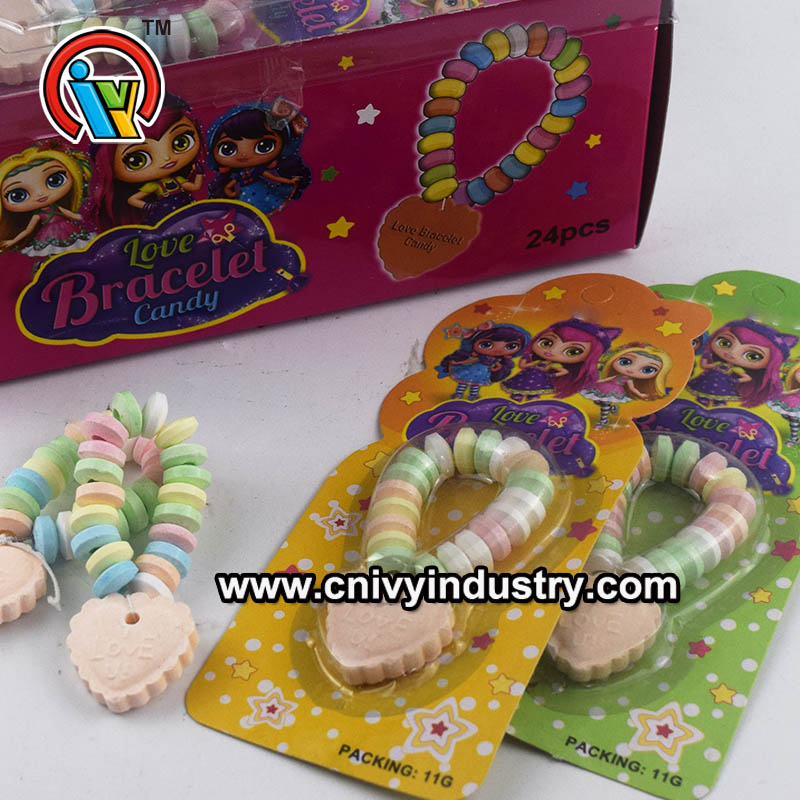 Fruity bracelets pressed candy for kids