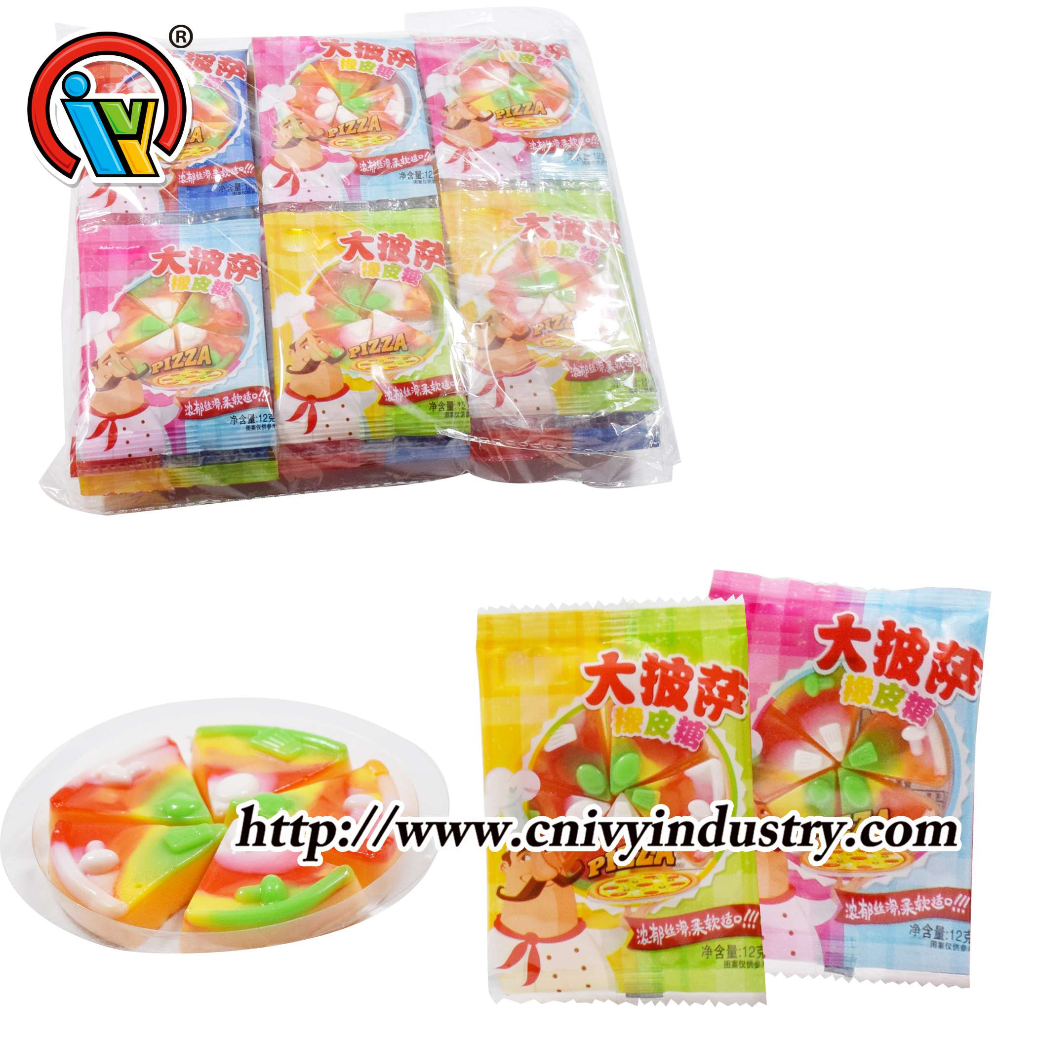 pizza gummy candy