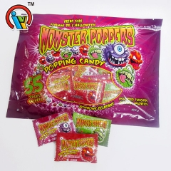 monstruo con sabor a fruta popping candy