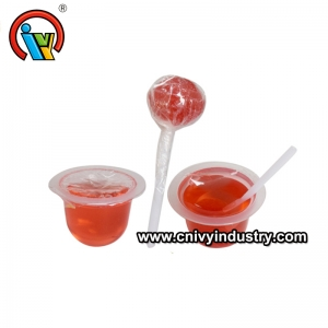 Divertida Dip Lollipop Con Mermelada